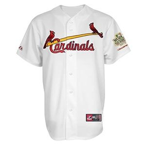 Majestic Cardinals 2011 World Series Jersey
